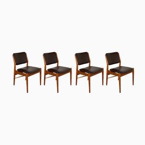 Chaises de Salon par Arne Vodder pour Sibast, Danemark, 1960s, Set de 4