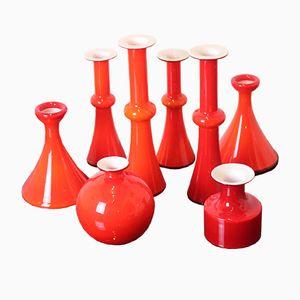 Vintage Carnaby Glassware by Christer Holmgren for Holmegaard, Set of 8