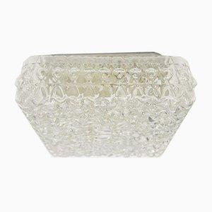 Geometric Glass Wall Light, 1960s