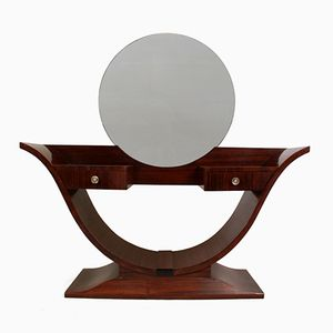 Art Deco Rosewood Dressing Table, 1930s