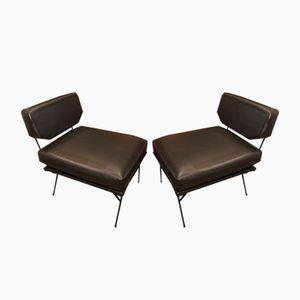 Italian Elettra Chairs from Arflex, 1950s, Set of 2
