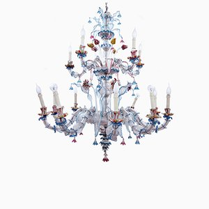 Murano Glass Chandelier, 1890s