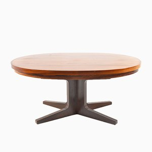 Danish Rosewood Flip Flap Dining Table by Dyrlund Smith, 1960s