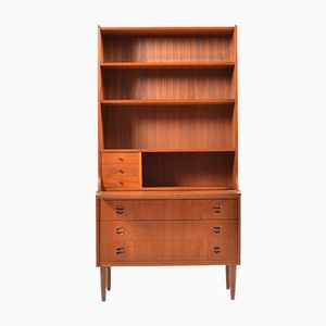 Mid-Century Danish Teak Writing Cabinet