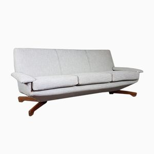 Floating Teak Sofa from Toothill, 1960s