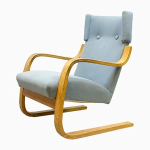 Model 401 Lounge Chair by Alvar Aalto for Artek, 1960s