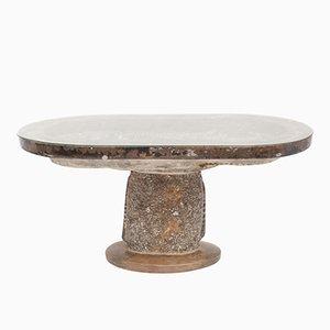 Tavolo di servizio antico in marmo