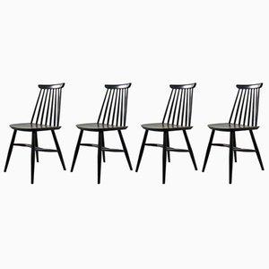 Chaises Vintage par Ilmari Tapiovaara, Set de 4