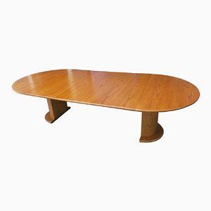 Danish Oak Conference Table by C J Rosengaarden, 1975