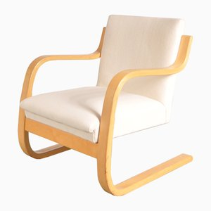 Vintage Model 42 Lounge Chair by Alvar Aalto for Artek