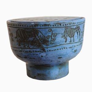 Vintage Keramik Blumenhalter von Jacques Blin