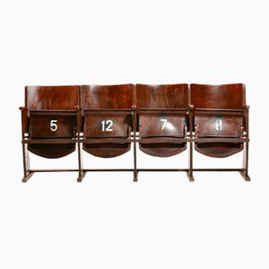 Theater Seat Bench from TON, 1950s