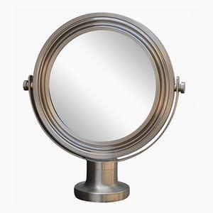 Vintage Modernist Pivoting Mirror by Oscar Torlasco