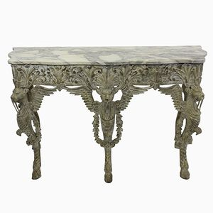 Large Northern Italian Painted Console, 1910s