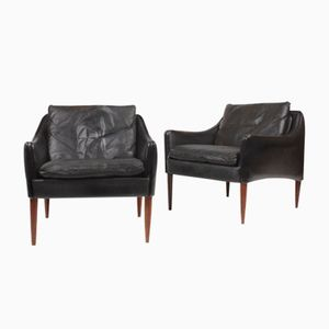 Mid-Century Lounge Chairs by Hans Olsen, Set of 2