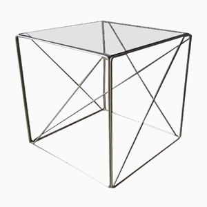 French Cubic Coffee Table by Max Sauze, 1970s