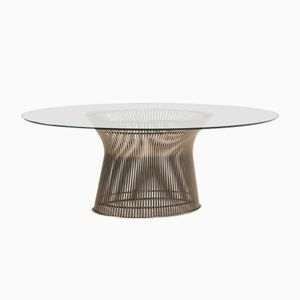 American Oval Wire Dining Table by Warren Platner for Knoll, 1966
