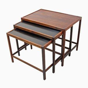Nesting Tables by Kurt Østervig for Illums Bolighus, 1960s
