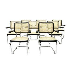 Deutsche S67 Wartezimmerstühle von Mart Stam für Thonet, 8er Set