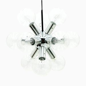 Austrian Atomic Chandelier by J.T. Kalmar, 1960s