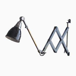 Lampe à Ciseaux Vintage Bleue par Curt Fischer pour Midgard
