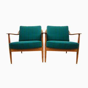 Chaises Vintage en Teck de Knoll, Set de 2