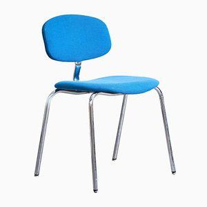 Blauer Stuhl von Steelcase Strafor, 1970er