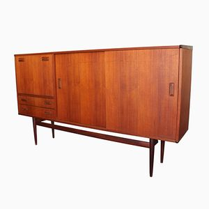 German Cherrywood Sideboard from Musterring International, 1960s