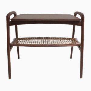 Table d'Appoint Vintage en Teck par Louis van Teeffelen pour Wébé