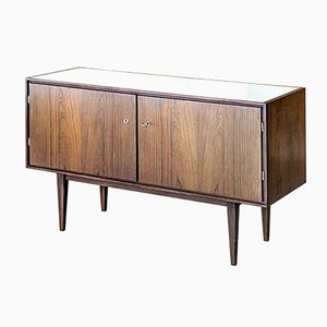 Vintage Small Rosewood Sideboard, 1960s