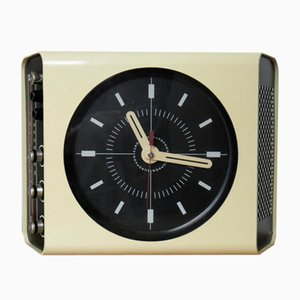 H30 Clock Radio by Adriano Rampoldi for Europhon, 1970s