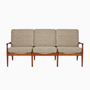 Vintage Three-Seater Sofa by Grete Jalk