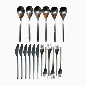 Model 2090 Cutlery Set by Helmut Alder for Amboss, 1963