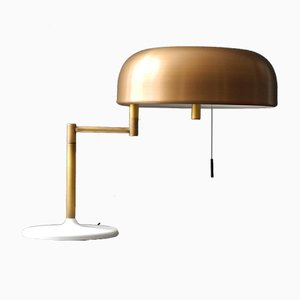 Table Lamp with Brass Shade from Staff, 1960s