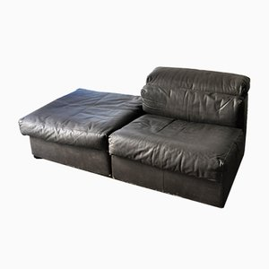 Leather Sofa by Afra & Tobia Scarpa for B&B Italia, 1974