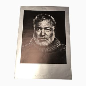 Poster di Hemingway di Yousuf Karsh, 1987