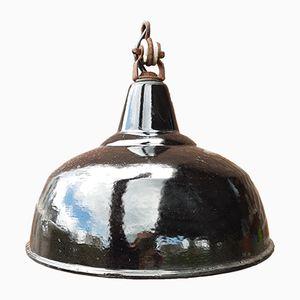 Vintage Black Industrial Pendant Lamp