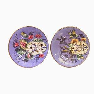 Handgemachte Keramikschalen, 1960er, 2er Set