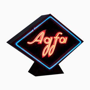 Panneau Agfa Vintage en Néon
