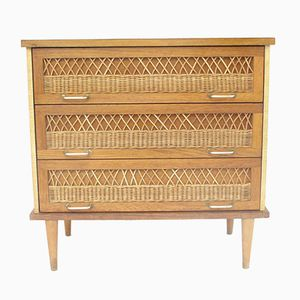 Rattan Commode, 1960s