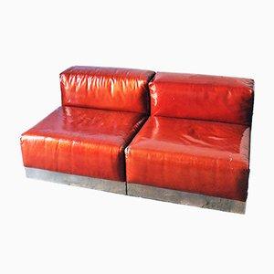 Lackierte Italienische Vintage Sessel von Cinova, 1970er, 2er Set