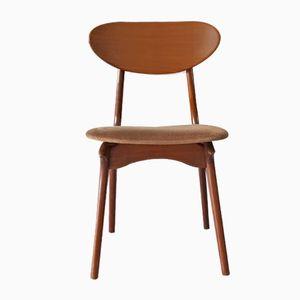 Vintage Teak Stuhl von Louis van Teeffelen für Wébé