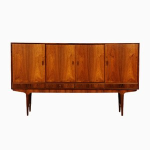 Mid-Century Danish Rosewood Credenza with Bar Cabinet by Gunni Omann, 1960s