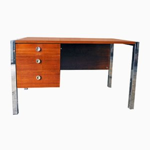 Italian Tecnika Desk by Ettore Sottsass for Poltronova, 1970s