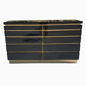 French Chest of Drawers by Jean Claude Mahey, 1970s