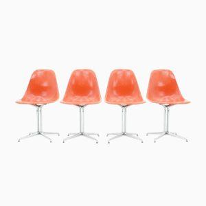 Vintage La Fonda Beistellstühle von Charles & Ray Eames für Vitra, 4er Set
