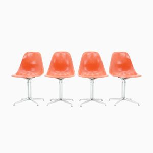 Vintage La Fonda Side Chairs by Charles & Ray Eames for Vitra, Set of 4