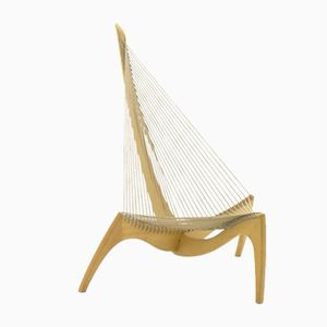 Harp Chair by Jørgen Høvelskov, 1975