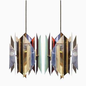 Vintage Tivoli Pendant by Simon Henningsen for Lyfa, 1960s