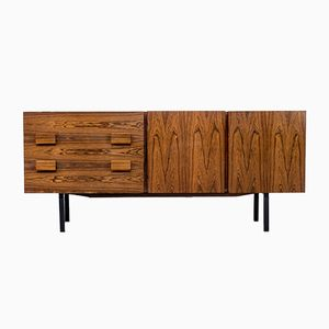 Rosewood Sideboard with Two Drawers & Two Doors, 1960s